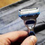 Как сделать простое приспособление для заточки лезвия бритвы в домашних условиях