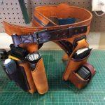 Как сшить кожаный поясной ремень для инструментов