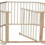 Как из деревянных деталей собрать складной манеж для ребенка
