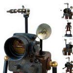 Как сделать игрушку-робота из старого хлама