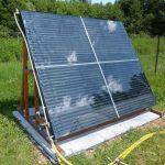 Как сделать самому простой и эффективный солнечный коллектор