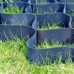 Как самому смонтировать газонную решетку на участке