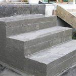 Самодельное крыльцо к дому из бетона
