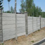 Как сделать бетонный забор вокруг дома