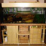 Как самостоятельно сделать аквариумную тумбу