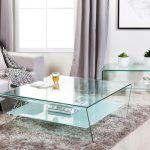 Как сделать красивый стеклянный стол в гостиную