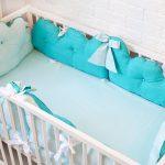 Самодельные бортики для кроватки малыша