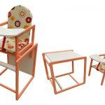 Делаем детский стульчик с мягкой седушкой своими руками