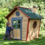 Как сделать игровой домик для самых маленьких своими руками