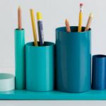 Как сделать подставку для карандашей из остатков стальных труб