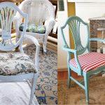 5 красивых идей реставрации старых стульев