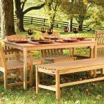 Пошаговая схема изготовления столика и скамеек для беседки во дворе