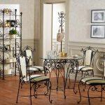 5 красивых идей самодельной кованой мебели для дома
