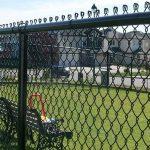 Как поставить самый простой забор из сетки рабицы самостоятельно