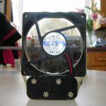 Мощный самодельный вентилятор из подручных материалов