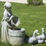 Как самостоятельно смастерить садовую скульптуру из бетона