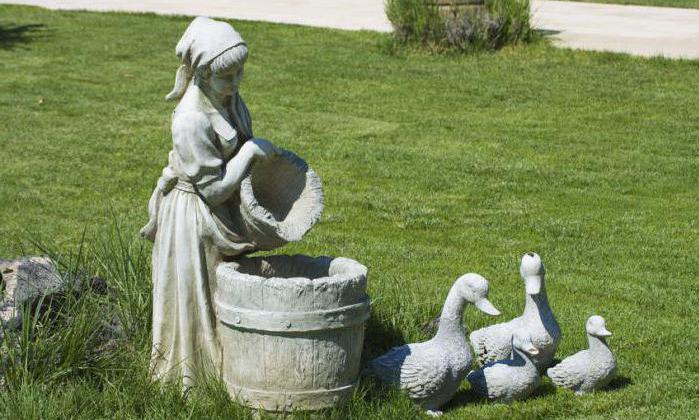 Купить садовую скульптуру из бетона купить алмазную коронку по бетону в москве