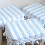 Как сшить подушки-подстилки на табуреты и скамейки