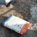 Легкий способ без пыли разделить мешок цемента
