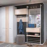 Модульный гардеробный шкаф для любой прихожей своими руками