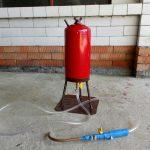 Мастерим мощный пеногенератор из старого огнетушителя