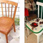 Как полностью обновить старые советские стулья задешево