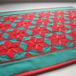 Уютный лоскутный коврик на пол своими руками