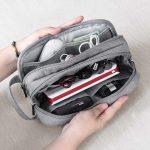 Как сделать сумку-органайзер для аккуратного хранения зарядок и кабелей