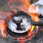 Простой способ как переплавить алюминий