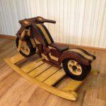 Фанерная качалка-мотоцикл для мальчика своими руками