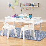 Как смастерить детский столик для игр и пазлов