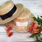 Как сплести соломенную шляпку для ребенка