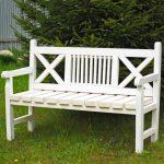 Как сколотить скамейку из деревянных реек