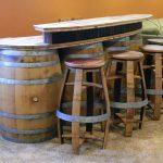 5 идей самодельной мебели из старой деревянной бочки