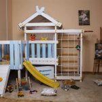 5 идей мебели, которую можно сделать из старой детской кроватки