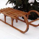 Готовим сани к снежному сезону: из чего сделать своими руками