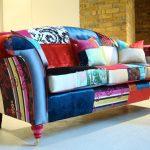 Как перетянуть старый диван в новую модную софу и не потратить почти ничего