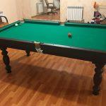 Как сделать бильярдный стол и игровой набор для бильярда