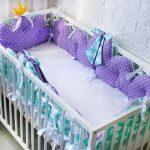 Детская кроватка из того, что осталось после стройки и ремонта