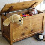 Детский ящик для хранения игрушек своими руками