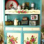 Как преобразить буфет советских времен в стильный шкаф для посуды