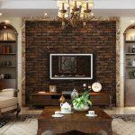 Как сделать своими руками настенное панно с имитацией кирпичной стены