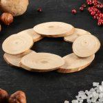 Как смастерить подставку для горячей посуды из обрезков дерева