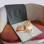 Самодельные накладки на мебель для защиты от когтей кошки