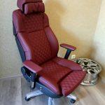 Удобный офисный стул из старого автокресла