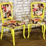 Как дать новую жизнь старым стульям: обновляем мебель своими руками