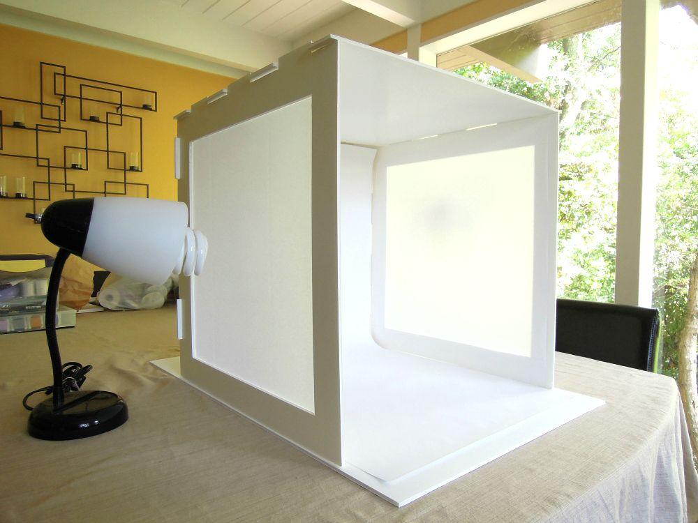 Как сделать короб для фотографирования товаров