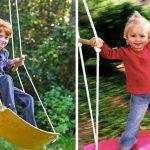 Как сделать домашнюю детскую качелю из старого скейтборда и прочных веревок
