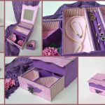 Как сделать из ненужной картонной коробки органайзер для бижутерии
