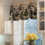 Как сделать миниатюрные шторы на пол-окна для кухни своими руками